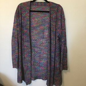 Vintage Missoni Open Front Cardigan
